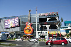 Hard Rock Cafe 免版税库存照片