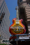 hard rock cafe Obraz Stock