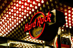 hard rock cafe Zdjęcia Royalty Free