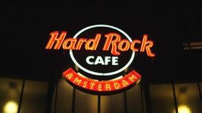 Hard Rock Cafe Amsterdam à la place de Leidse - AMSTERDAM - LES PAYS-BAS - 19 juillet 2017 clips vidéos
