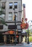 Hard Rock Cafe, Atlanta, dziąsła Obraz Royalty Free