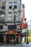Hard Rock Cafe', Atlanta, GA. Royalty Free Stock Image