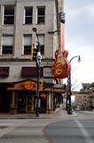 Hard Rock Cafe Atlanta, la Géorgie Images stock