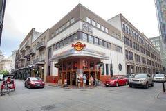 Hard Rock Cafe au quartier français de Hyatt Photo libre de droits