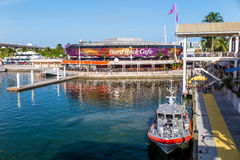Hard Rock Cafe on August 7, 2014 in Miami Royalty Free Stock Image