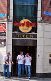 Hard Rock Cafe Dublin Lizenzfreies Stockfoto