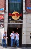 Hard Rock Cafe Dublin Royaltyfri Foto