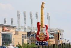 Hard Rock Cafe en Cleveland, Ohio Imagen de archivo libre de regalías