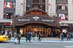 Hard Rock Cafe en Times Square Fotografía de archivo libre de regalías