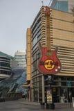 Hard Rock Cafe en Varsovia Imagen de archivo