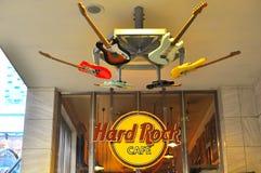 Hard Rock Cafe - estação do ueno, tokyo, japão Imagem de Stock