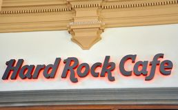 Hard rock cafe in Florence, Italy Royalty Free Stock Image