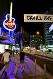 Hard Rock Cafe Gold Coast Queensland Australien Arkivbilder