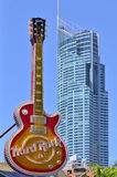 Hard Rock Cafe Gold Coast Queensland Australien Royaltyfri Bild