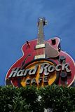 Hard Rock Cafe Guitar Royalty Free Stock Photography