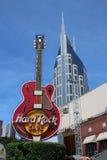 Hard Rock Cafe Guitar Stock Photography