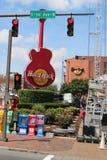 Hard Rock Cafe Guitar Stock Image