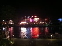 Hard Rock Cafe ha individuato alla città universale a Orlando, Florida Immagine Stock Libera da Diritti