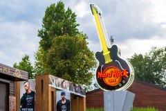 Hard Rock Cafe stock photo