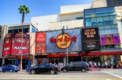 Hard Rock Cafe Hollywood imagen de archivo