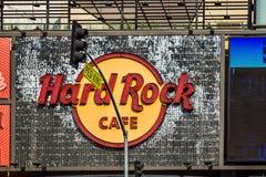 Hard Rock Cafe Hollywood boulevard Los Angeles Stock Photography