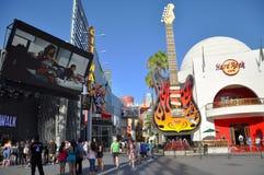 Hard Rock Cafe a Hollywood universale Fotografie Stock
