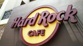 Hard Rock Cafe i Melaka Arkivfoto