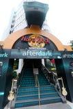 """""""Hard Rock Cafe"""" i Singapore Arkivbilder"""