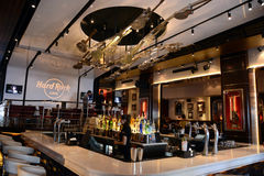 Hard Rock Cafe Stock Photography