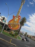 Hard Rock Cafe in Las Vegas stock image