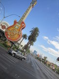 Hard Rock Cafe in Las Vegas stock photos
