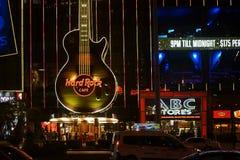 Hard Rock Cafe Las Vegas Stock Image