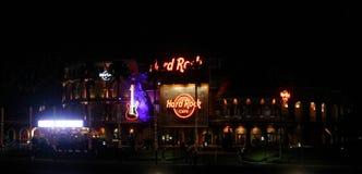 Hard Rock Cafe localizó en la ciudad universal en Orlando, la Florida Foto de archivo