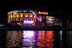 Hard Rock Cafe` located at Universal City in Orlando, Florida. Hard Rock Cafe` at Universal City Walk located in Orlando, Florida stock image