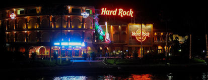 Hard Rock Cafe' located at Universal City in Orlando, Florida Stock Photography