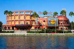 Hard Rock Cafe` located at Universal City in Orlando, Florida Stock Photography