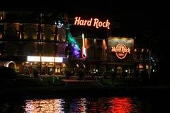 Hard Rock Cafe lokaliserade på den universella staden i Orlando, Florida royaltyfri foto