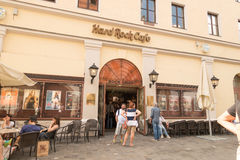 Hard Rock Cafe munich Royalty Free Stock Photography