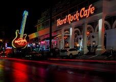 Hard Rock Cafe musikklubba arkivfoto