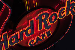 Hard Rock Cafe Stock Image