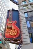 Hard Rock Cafe NYC Arkivbild