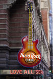 Hard Rock Cafe Philadelphfia fotografia de stock royalty free