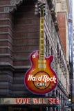 Hard Rock Cafe Philadelphia Royaltyfri Fotografi