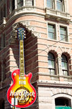 Hard Rock Cafe a Philadelphia del centro Immagine Stock