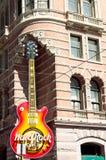 Hard Rock Cafe in Philadelphia downtown Stock Image