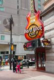 Hard Rock Cafe Stock Image