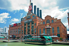 Hard Rock Cafe Power Plant in Baltimore Maryland stock photos