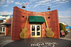 Hard Rock Cafe in San Francisco Royalty Free Stock Photography