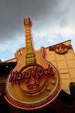 Hard Rock Cafe Sign Stock Photo
