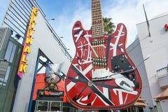 Hard Rock Cafe at Universal CityWalk Royalty Free Stock Photos